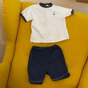 Emile et Rose baby outfit 9-12 months